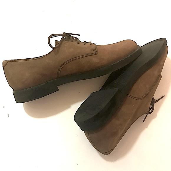 Rockport Mens Leather Dress Shoes Vibram EUC - 11